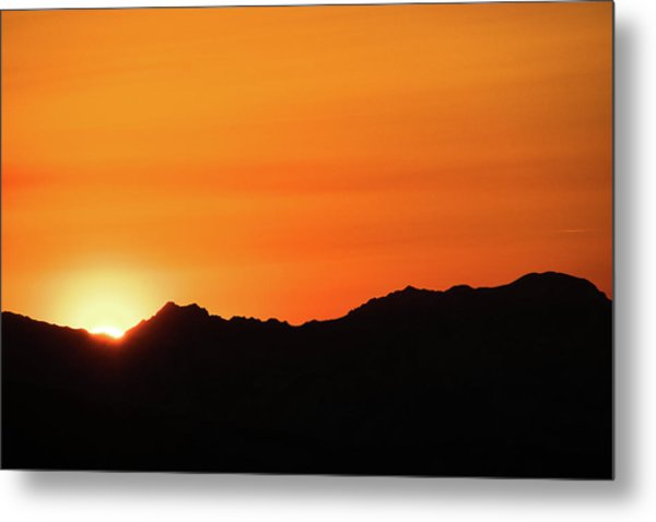 A Colorado Sunset Metal Print