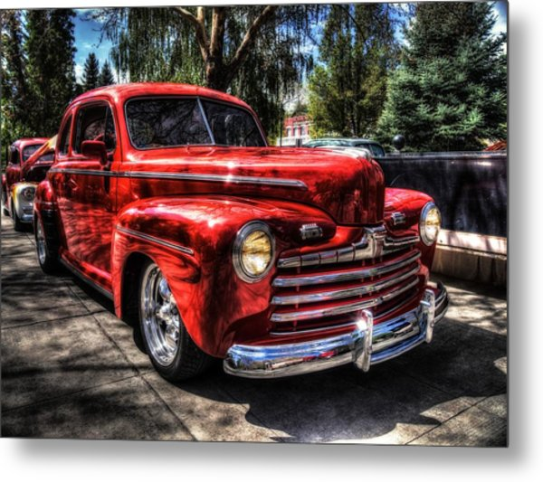 A Cool 46 Ford Coupe Metal Print