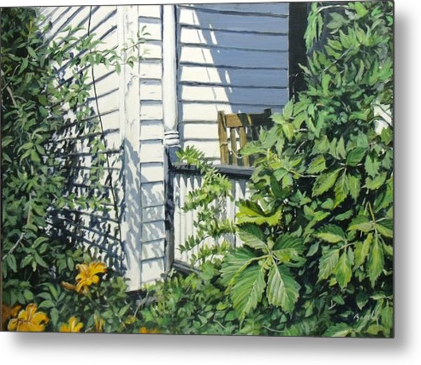 A Corner Of Summer Metal Print