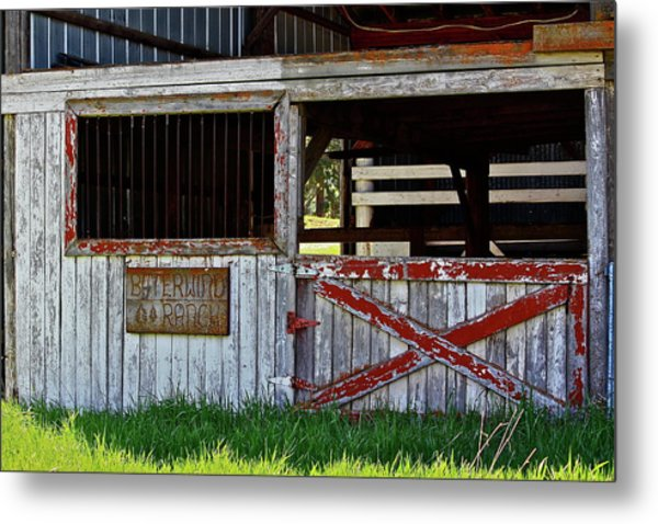 A Country Scene Metal Print