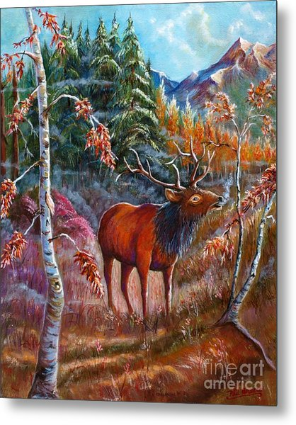 A Cry In The Wild Metal Print