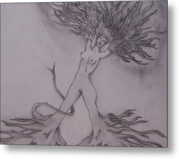 A Dance With The Wind Metal Print by Erin Hope