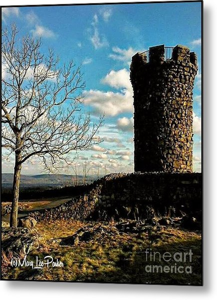 A Day At  Craigs  Castle   Metal Print