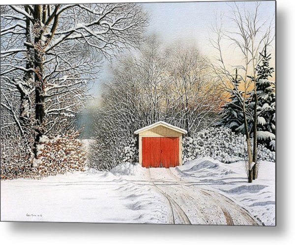 A Day In December Metal Print by Conrad Mieschke