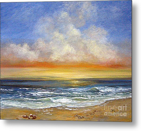A Day To Remember  Sold Metal Print by Jeannette Ulrich