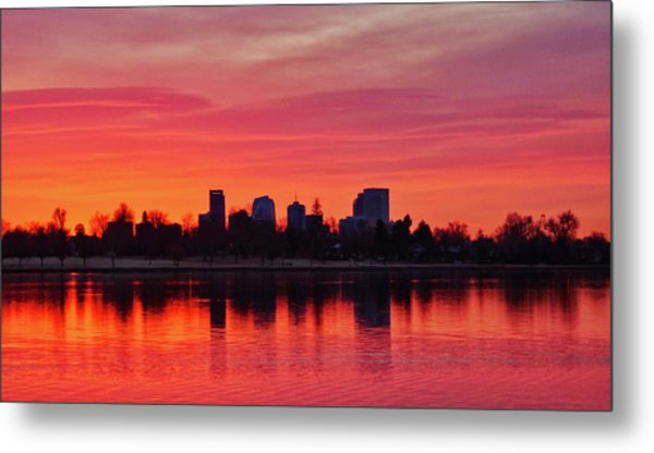 A Denver Morning Metal Print