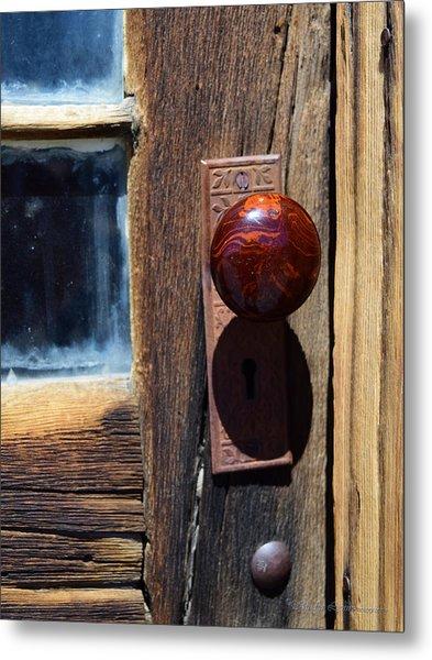 A Door To The Past Metal Print