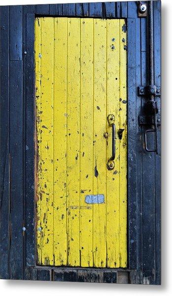 A Door Within A Door Metal Print