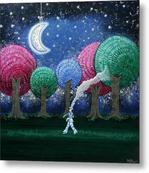 A Dream In The Forest Metal Print