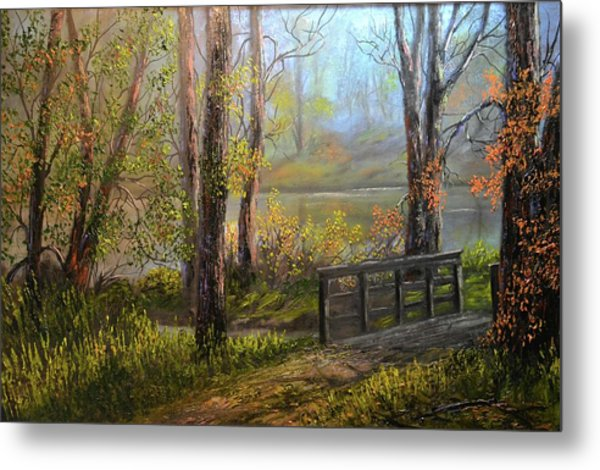 A Fall Day  Metal Print