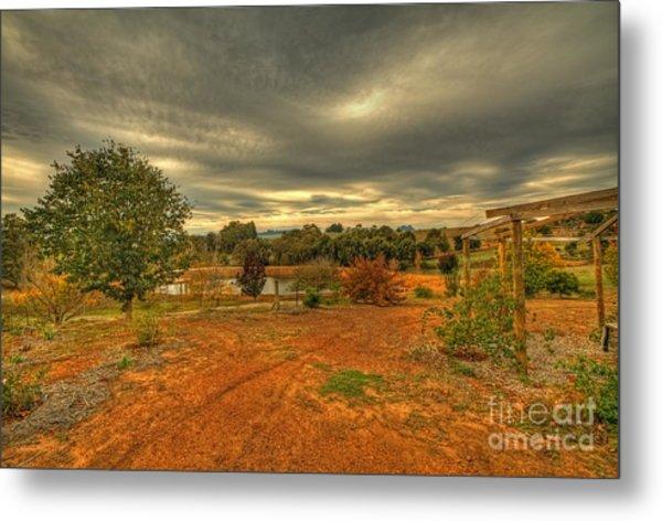A Farm In Bridgetown, Western Australia Metal Print