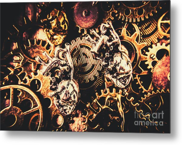 A Fiction In Machine Love Metal Print