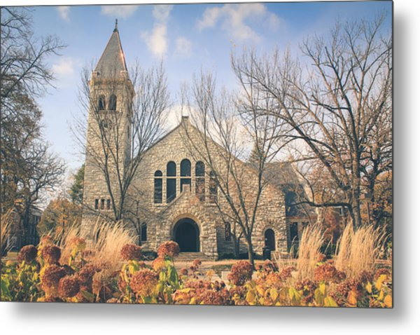 A Fine Autumn Day Metal Print
