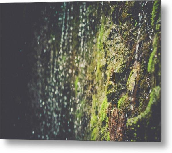 A Flowing Rock Metal Print
