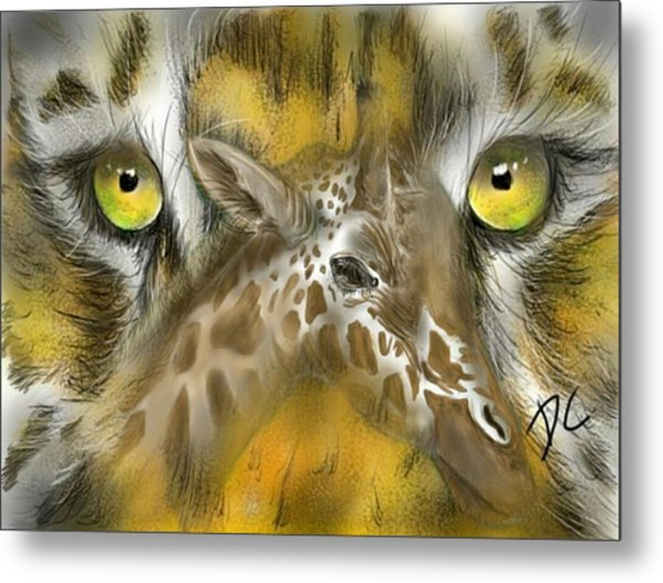 A Friend For Lunch Metal Print