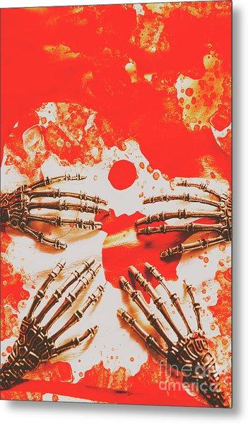 A Future Uncertain Metal Print