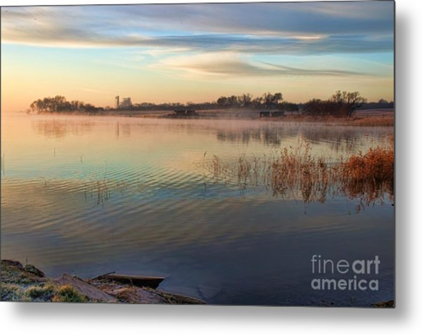 A Gentle Morning Metal Print