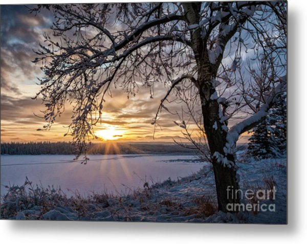 A Glenmore Sunset Metal Print