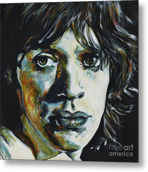 Almost Hear Your Sigh. Mick Jagger Metal Print