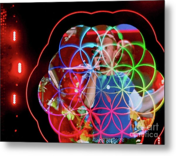 A Head Full Of Dreams - Chris Martin	 Metal Print