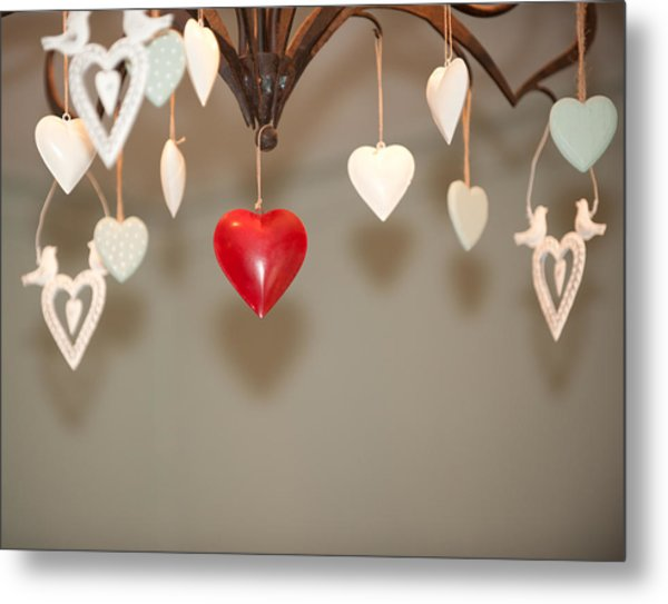 A Heart Among Hearts I Metal Print
