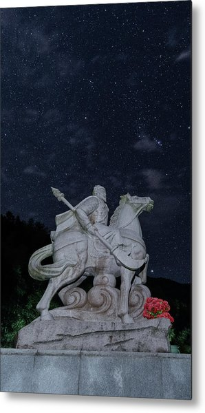 Metal Print featuring the photograph A Hero's Starscape by William Dickman