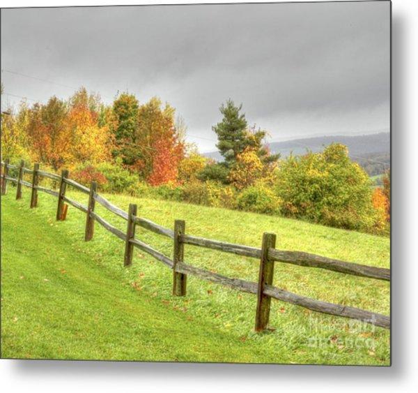 A Highland Forest Autumn Metal Print