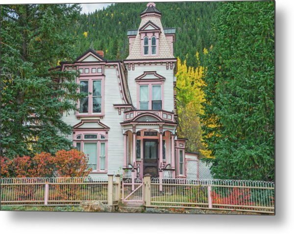 A Historical Treasure Constructed In 1870, Maxwell House, Georgetown, Colorado  Metal Print