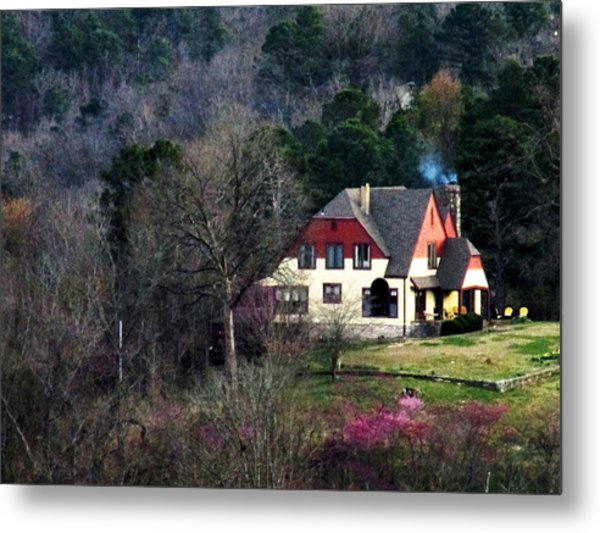 A Home In The Country Metal Print