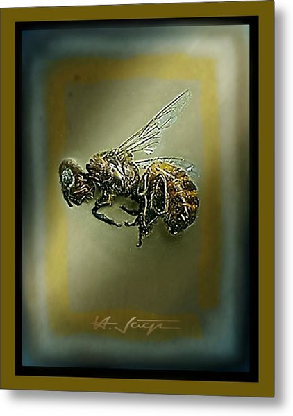 A Humble Bee Remembered Metal Print
