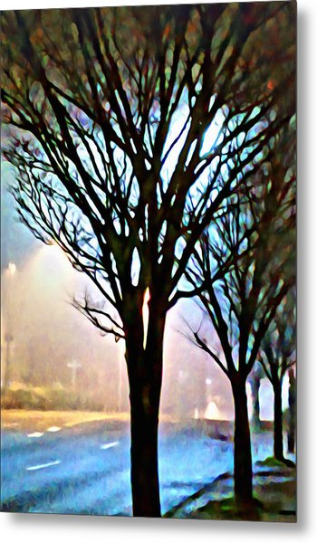 A Light Dusting Of Solitude Metal Print