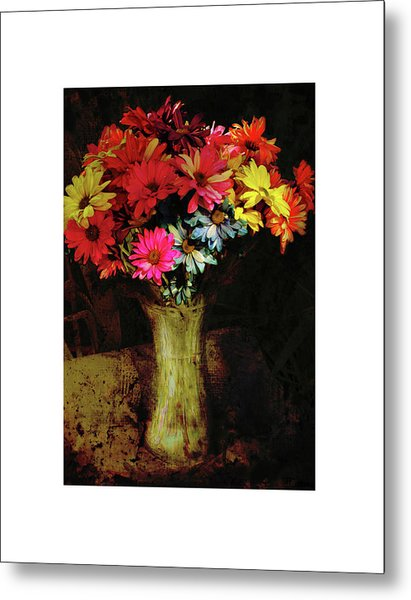 A Light Shines Into The Darkness Of My Soul Metal Print