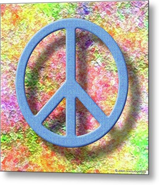 A Little Peace Metal Print