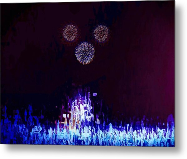 A Magical Night Metal Print