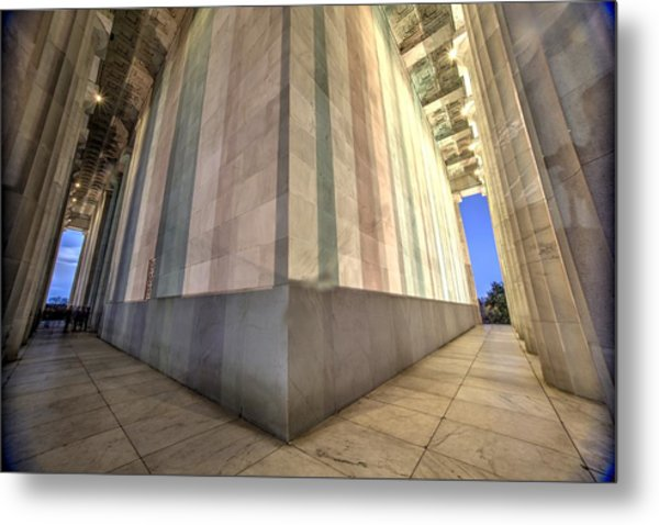 A Matter Of Perspective Metal Print by John King