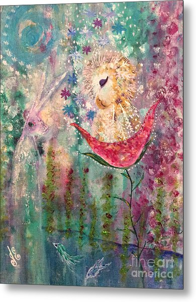 A Midday Dream Metal Print