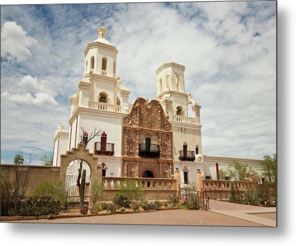 A Mission San Xavier Del Bac, Tucson Metal Print