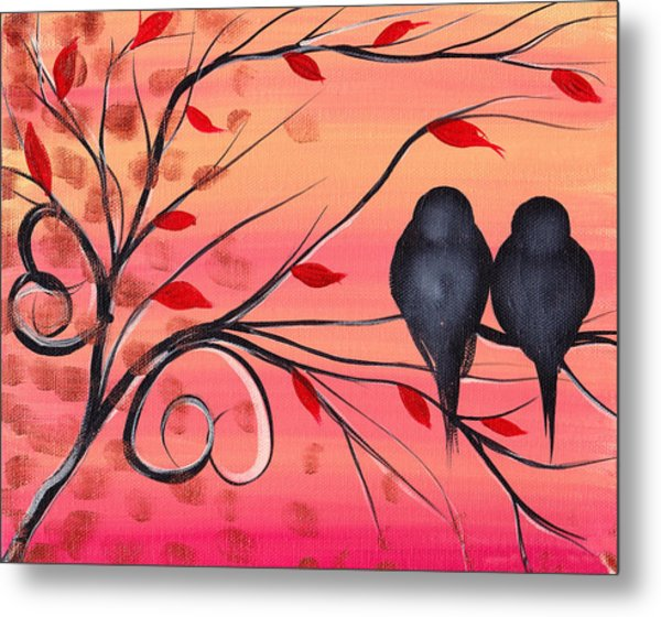 A Morning With You Metal Print