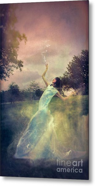 A Muse Of Fire Metal Print