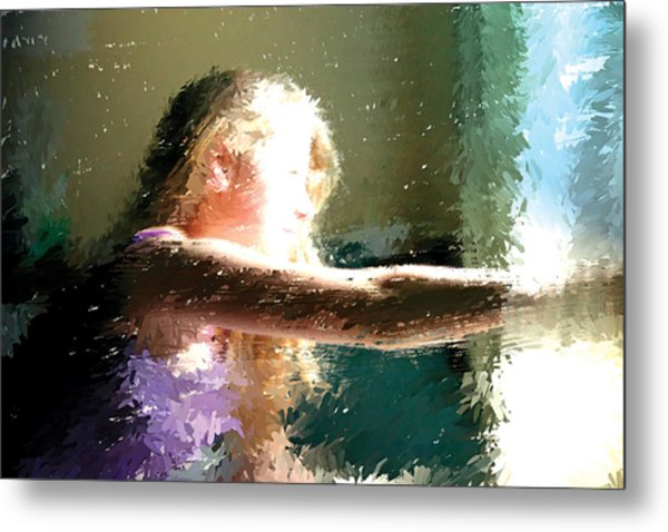 A New Day Metal Print by Judith Bicking