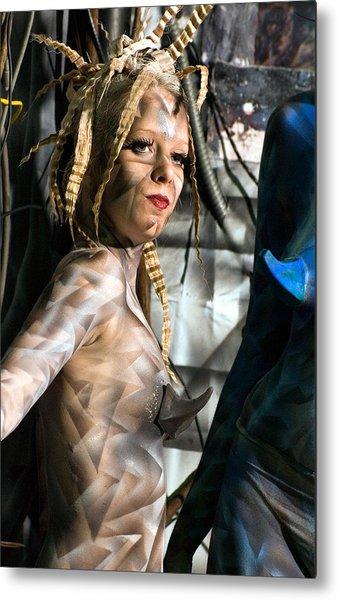 A Organic Robot Metal Print by Leigh Odom