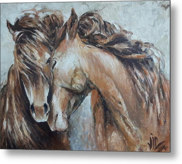 A Painting About Love  Metal Print
