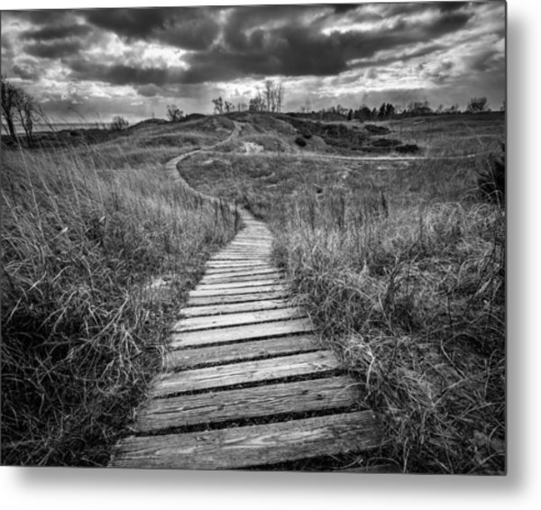 A Path Unwound Metal Print