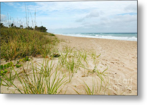 A Peaceful Place By The Sea Metal Print