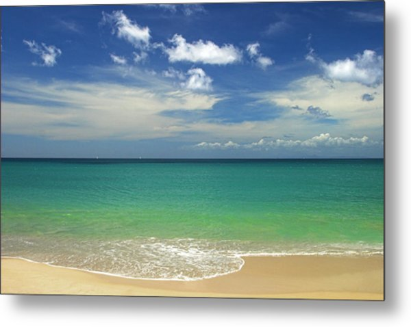 A Perfect Day- St Lucia Metal Print