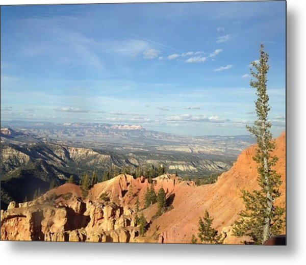 A Perfect Spot At Bryce Canyon Metal Print