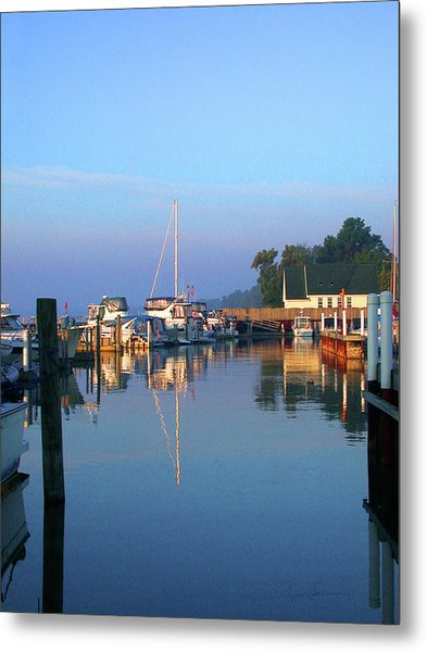 A Perfect Tawas Morning Metal Print