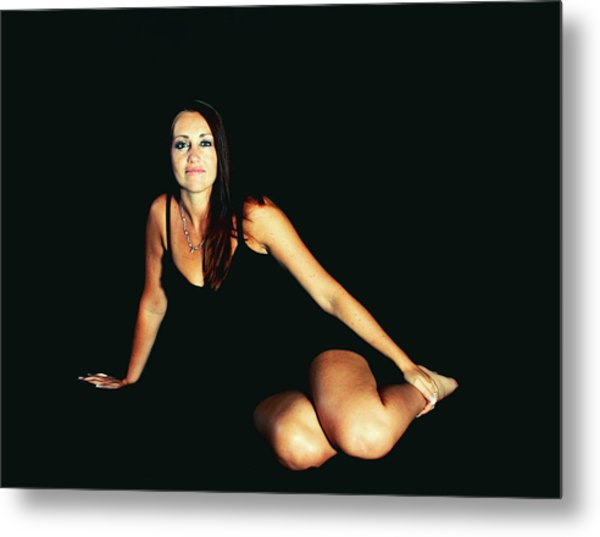 A Person Divided Metal Print