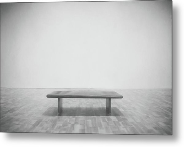 A Place To Sit 3 Metal Print