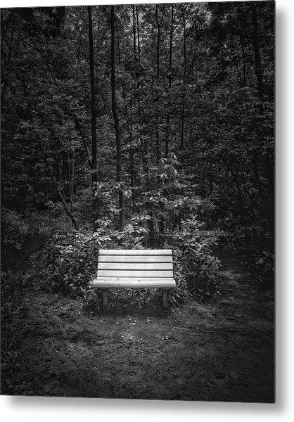 A Place To Sit Metal Print